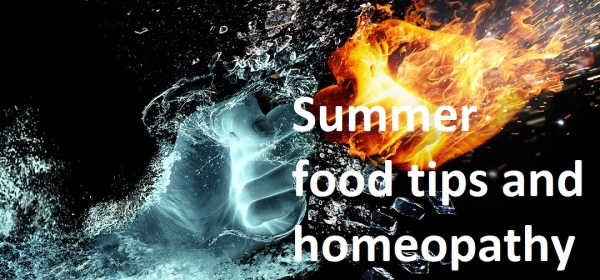 Summer food tips and homeopathy