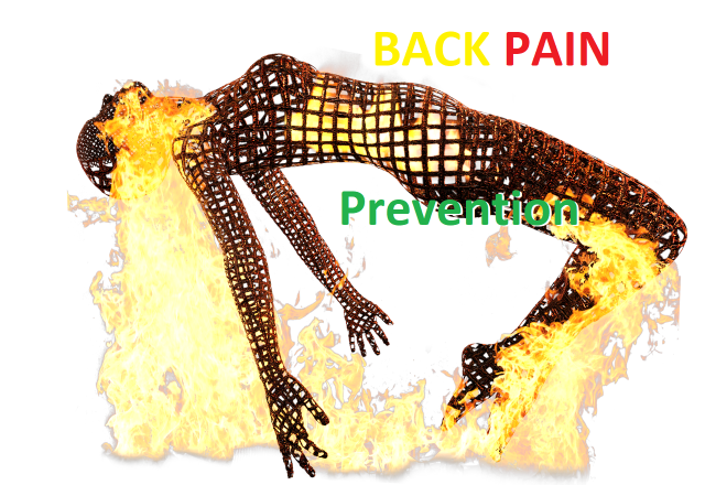 lower back pain prevention